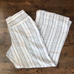 New Plus size linen pants by CATO sz 18/20 comfy